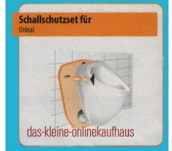 Schallschutzset für Ihr Urinal (916#
