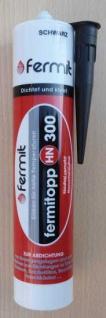 Fermit HN 300 Hochtemperatur Silikon Farbe schwarz /neutralvernetzt 310ml (7881#