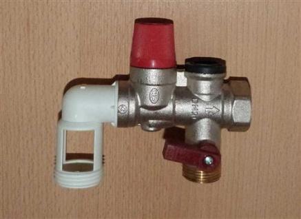 """Sicherheitsgruppe ORKLI 3/4"""" für Trinkwasser rote Serie 21670P (5852#"""