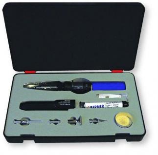 BERNER Gaslötkolben Pro 100 Löt-Multi im praktischen Kunststoffkoffer (7685#