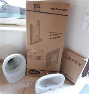 Gäste WC + WT - Set Farbe manhattan / Villeroy & Boch / / ! (7302#