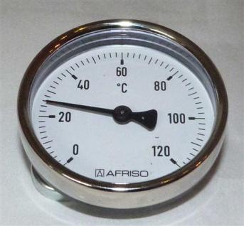 Magnet - Anlegethermometer Ø 63mm / 0°C bis 120°C (7635#