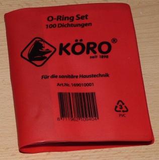 Dichtungen 100 Stk. O Ring-Set Hersteller KÖRO® (9776#