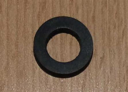 """Gummi-Dichtung f. ÜWM schwarz 10 x 18 x 3mm 1/2"""" 1 Stück (5875# - Vorschau"""