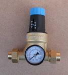 Druckminderer Watts 18mm Lötverschraubung + Manometer (6746#