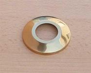 """Hahnrosette , Messing blank 1"""" Ø ca.67 mm / Messingrosette (8084#"""