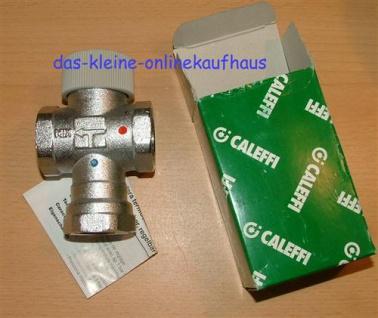 """Mischventil CALEFFI 1/2"""" IG / 30-48°C (Auswahlmöglichkeiten) - Vorschau"""