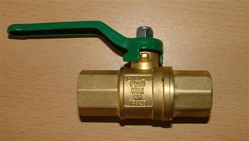 Kugelhahn langen Griff für Trinkwasser DVGW zugelassen (Auswahlmöglichkeiten)