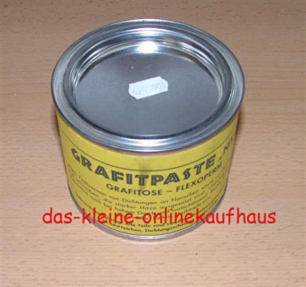 Grafitpaste NIVO Flexoperm / 500 g Dose (Auswahlmöglichkeiten) - Vorschau