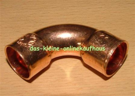 Kupferbogen l 90°/ I-I DVGW zugelassen (Auswahlmöglichkeiten)