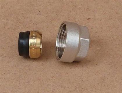 Klemmringverschraubung Eurokonus 16 mm weichdichtend / 1 Stück (Auswahlmöglichkeiten)