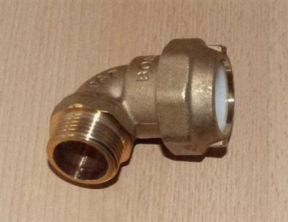 """Messing PE - Winkel 1/2"""" AG x 20mm (Auswahlmöglichkeiten)"""