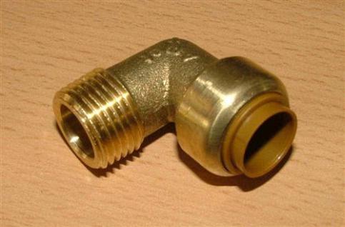 """Kupfer Steckfitting Überg.Winkel 90°/18mmx3/4"""" AG (Auswahlmöglichkeiten) - Vorschau"""