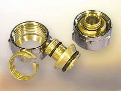 Klemmringverschraubung (Paar) 17 x 2 mm (Auswahlmöglichkeiten)