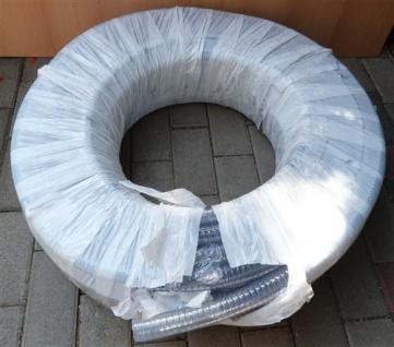 Mega PVC Spiralsaugschlauch, transparent / 1 Zoll / 25m Rolle (Auswahlmöglichkeiten)