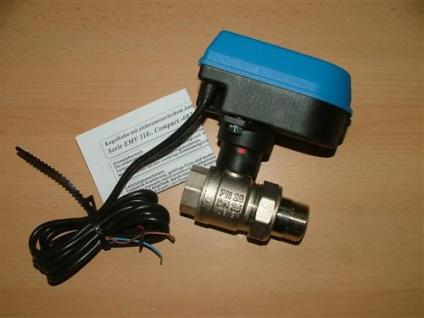 Motorkugelhahn EMV 110 / 2 Wege IG + AG Verschraubung (Auswahlmöglichkeiten)