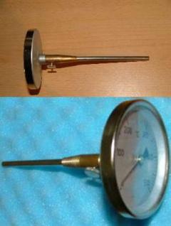 Rauchgasthermometer 0 - 500°C (Auswahlmöglichkeiten)