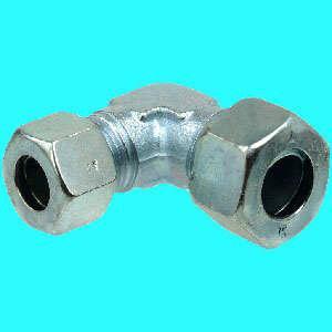 Stahl Schneidring-Verschr. WRV verzinkt 8mm x 6 mm (Auswahlmöglichkeiten)