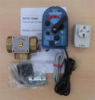 Elektromotorischer Konstant Temperaturregler ROTO TEMP F3 DIN 25 (Auswahlmöglichkeiten)