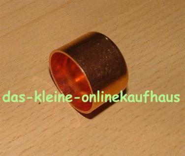 Kupferkappen / DVGW zugelassen (Auswahlmöglichkeiten)