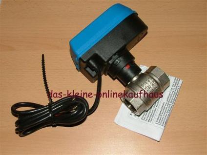 Motorkugelhahn EMV 110 / 2 Wege IG/IG (Auswahlmöglichkeiten) - Vorschau