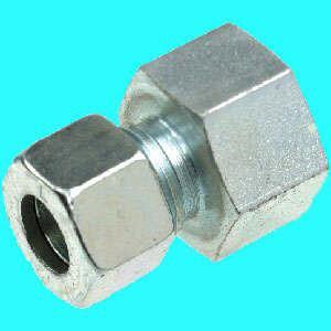 """Stahl Schneidring-Verschr. GAV verzinkt 6 mm x R 1/8"""" (Auswahlmöglichkeiten)"""