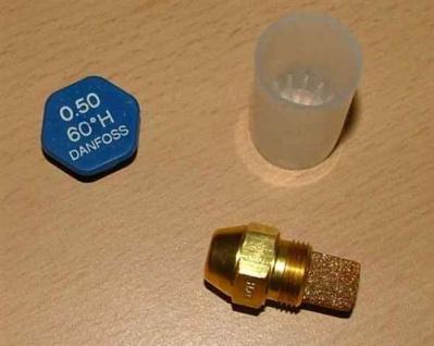 Ölbrennerdüse Danfoss Hohlkegel (H) OD wählen Sie selbst die Größe (ab 0, 4 !) (Auswahlmöglichkeiten)