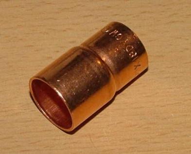 Kupfer Absatznippel / I-A / DVGW zugel. (Auswahlmöglichkeiten) - Vorschau