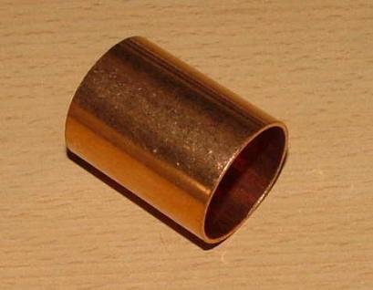 Kupfer-Lötfitting, Schiebemuffe ohne Anschlag 12 mm (Auswahlmöglichkeiten)