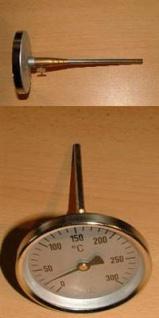 Rauchgasthermometer 0 - 300°C (Auswahlmöglichkeiten)