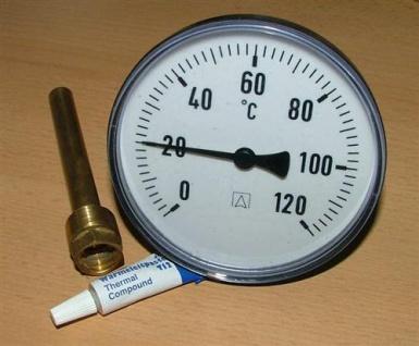 Tauchthermometer 1 Stück (Auswahlmöglichkeiten) - Vorschau