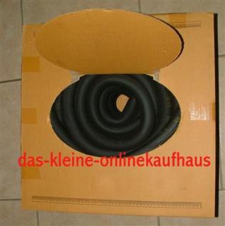 Hochtemperaturisolierung Ø 15mm x 13mm 25m Rolle (Auswahlmöglichkeiten)