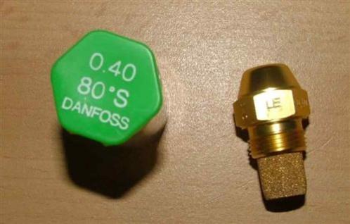 Ölbrennerdüse Danfos OD-LE Halbholkegel /wählen Sie! (Auswahlmöglichkeiten) - Vorschau