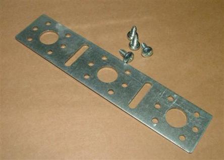 Montageplatte für Wandwinkel Stahlblech (Auswahlmöglichkeiten)