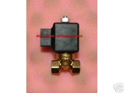 Magnetventil für Ölanlagen mit Anschlußstecker (Auswahlmöglichkeiten) - Vorschau