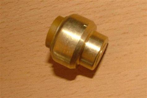 Kupfer Steckfitting Kappe 15 mm (Auswahlmöglichkeiten) - Vorschau
