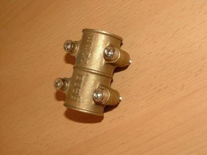 Messing Dichtschelle i/i 10 mm (Auswahlmöglichkeiten) - Vorschau