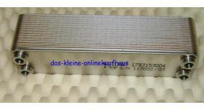 Wärmetauscher ZB 30-10 Edelstahlpl.-hartgelötet (Auswahlmöglichkeiten)