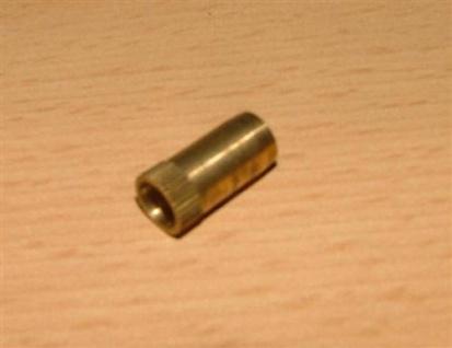 Messing Verstärkungshülse f. Kupferrohr 6 x 1mm (Auswahlmöglichkeiten) - Vorschau