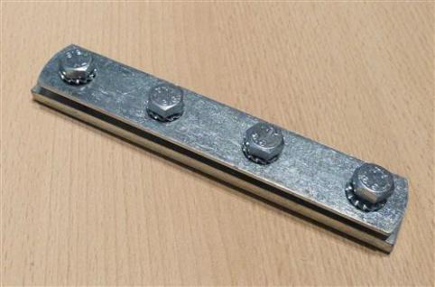 Schienenverbinder verzinkt für Montageschienen 27/18mm und 28/30, 1Stück (Auswahlmöglichkeiten) - Vorschau