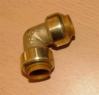 Kupfer Steckfitting Winkel 90° / 15 mm i/i (Auswahlmöglichkeiten)