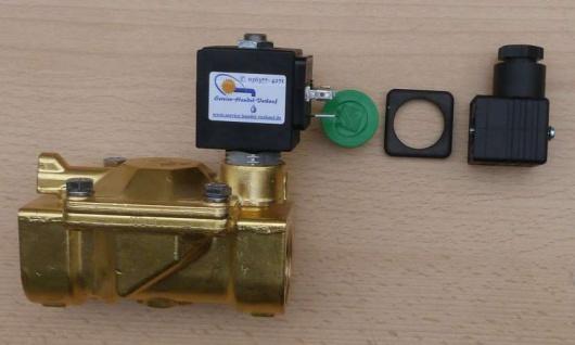 Magnetventil für Gartenbewässerung / Beregnungstechnik (Auswahlmöglichkeiten)