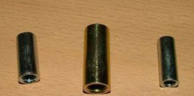 Gewindehülse verzinkt M6 x 20mm 10Stück (Auswahlmöglichkeiten)