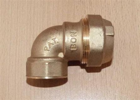 """Messing PE - Winkel 1/2"""" IG x 20mm (Auswahlmöglichkeiten)"""