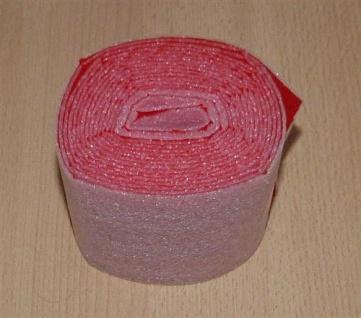 Isolierstreifen nicht selbstklebend Rot / 3, 6m x 70mm (Auswahlmöglichkeiten)