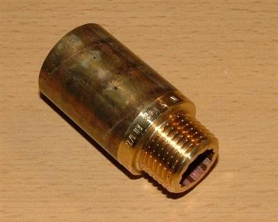 """Rotguss Hahnverlängerung 1/2"""" x 12, 5mm (Auswahlmöglichkeiten)"""