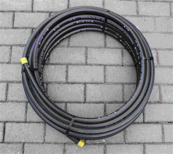 PE Rohr 25 x 2, 3 / 25m Rolle / DVGW zug. Trinkwasser / PE-HD / PN 12, 5 (Auswahlmöglichkeiten)