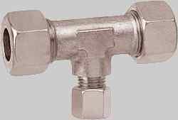 Stahl Schneidring-Verschr. TRV verzinkt 12 x 8 x 12 mm (Auswahlmöglichkeiten)
