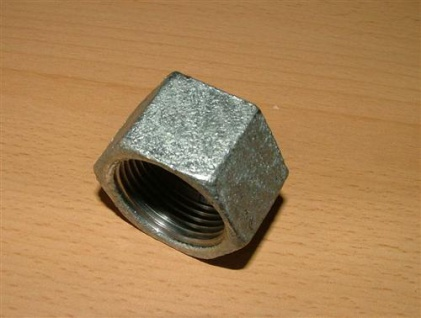 """Verzinkte Fitting Kappe IG // 3/8"""" (Auswahlmöglichkeiten)"""