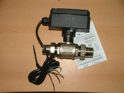 Motorkugelhahn EMV 700 / 2 Wege AG + AG Verschraubung (Auswahlmöglichkeiten) - Vorschau